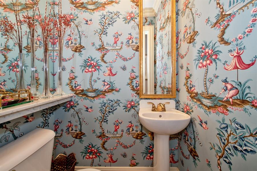 Real Estate Photography - 24 E Scott, Unit 1, Chicago, IL, 60610 - Half Bath