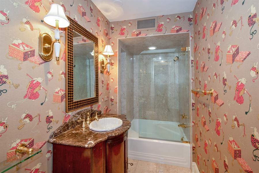 Real Estate Photography - 24 E Scott, Unit 1, Chicago, IL, 60610 - 2nd Bathroom