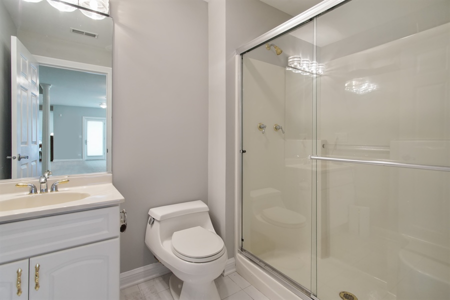 Real Estate Photography - 15 S Meadow, South Barrington, IL, 60010 - 2nd Bathroom