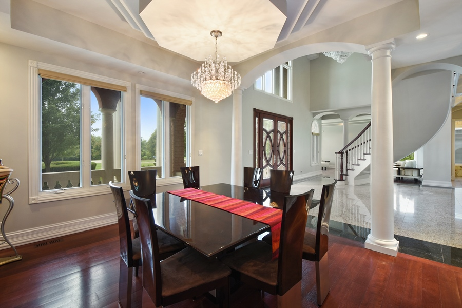 Real Estate Photography - 6 Falcon Ct., South Barrington, IL, 60010 - Dining Room
