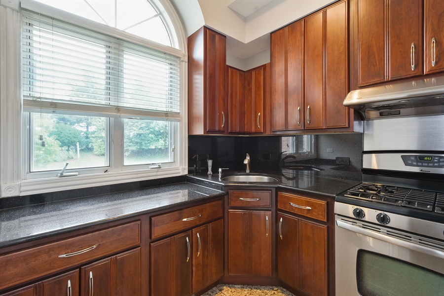 Real Estate Photography - 6 Falcon Ct., South Barrington, IL, 60010 - 2nd Kitchen on 1st Floor