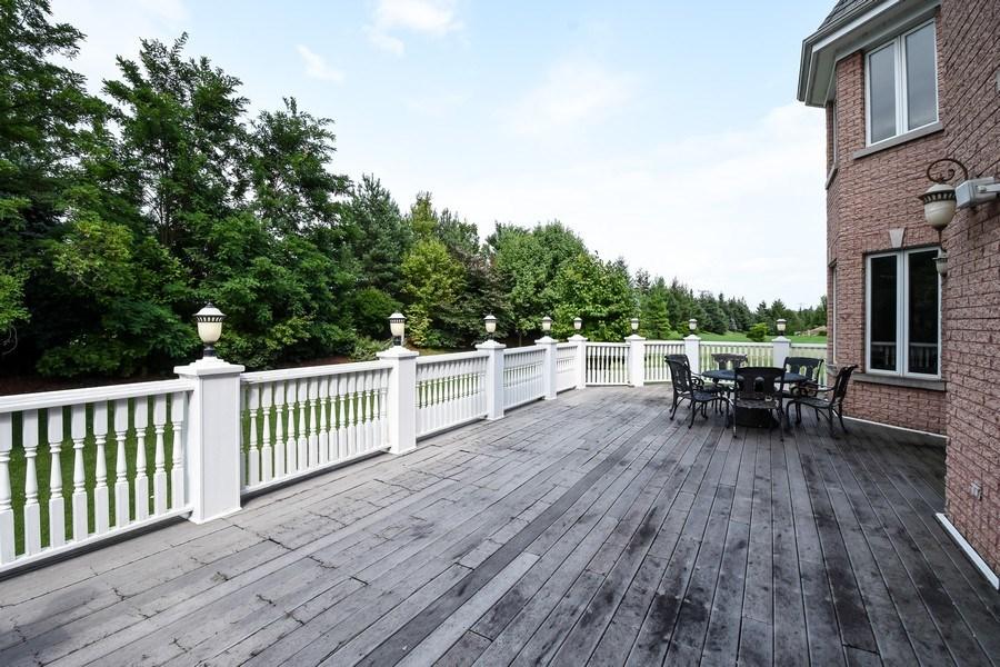 Real Estate Photography - 6 Falcon Ct., South Barrington, IL, 60010 - Balcony