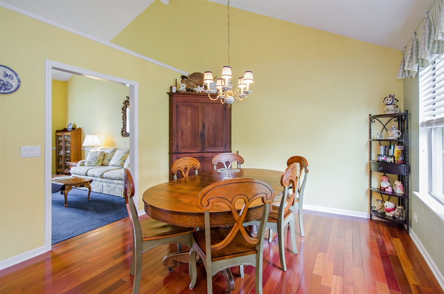 Real Estate Photography - 1159 Stanton Rd, Lake Zurich, IL, 60047 - Dining Room