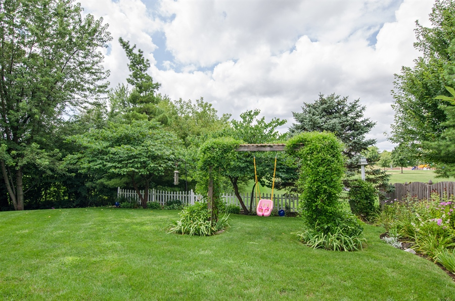 Real Estate Photography - 1159 Stanton Rd, Lake Zurich, IL, 60047 - Back Yard