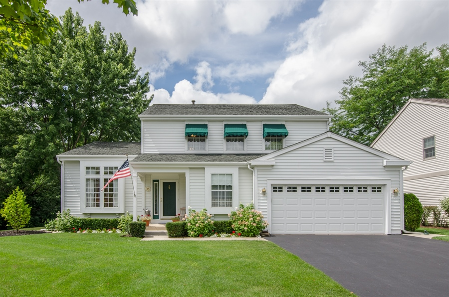 Real Estate Photography - 1159 Stanton Rd, Lake Zurich, IL, 60047 - Front View