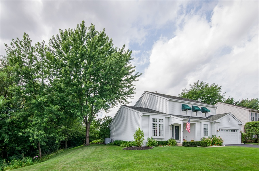 Real Estate Photography - 1159 Stanton Rd, Lake Zurich, IL, 60047 - Side View