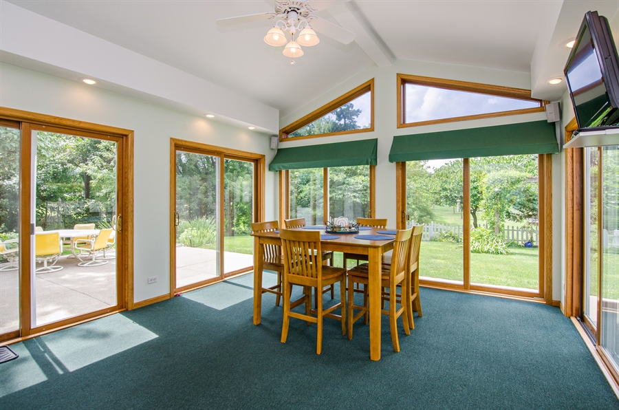 Real Estate Photography - 1159 Stanton Rd, Lake Zurich, IL, 60047 - Sun Room