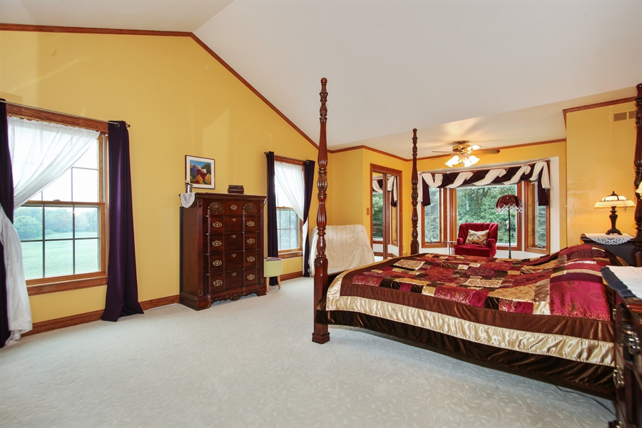 Real Estate Photography - 264 St. Augustine Rd, Colgate, WI, 53017 - Master Bedroom