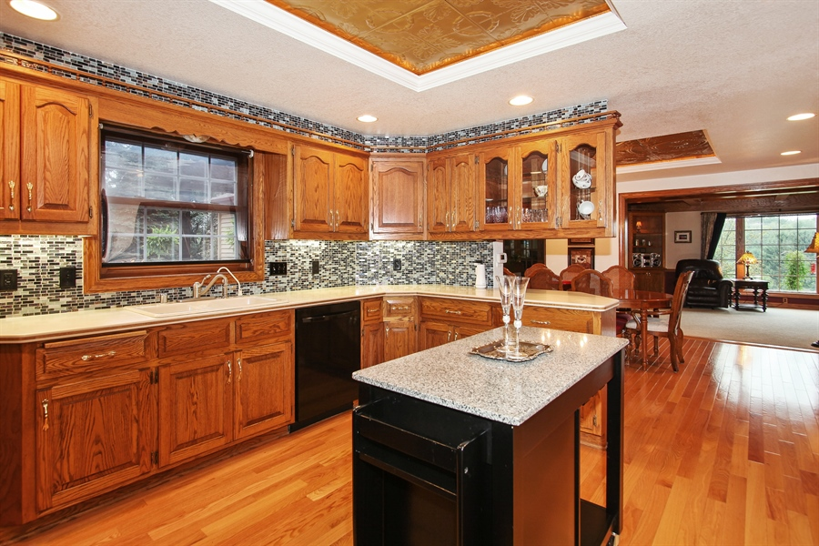 Real Estate Photography - 264 St. Augustine Rd, Colgate, WI, 53017 - Kitchen
