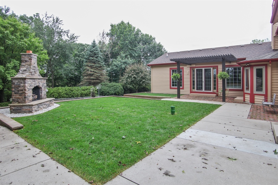 Real Estate Photography - 264 St. Augustine Rd, Colgate, WI, 53017 - Back Yard