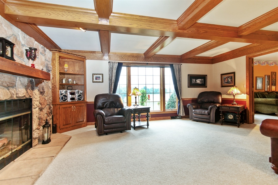 Real Estate Photography - 264 St. Augustine Rd, Colgate, WI, 53017 - Family Room