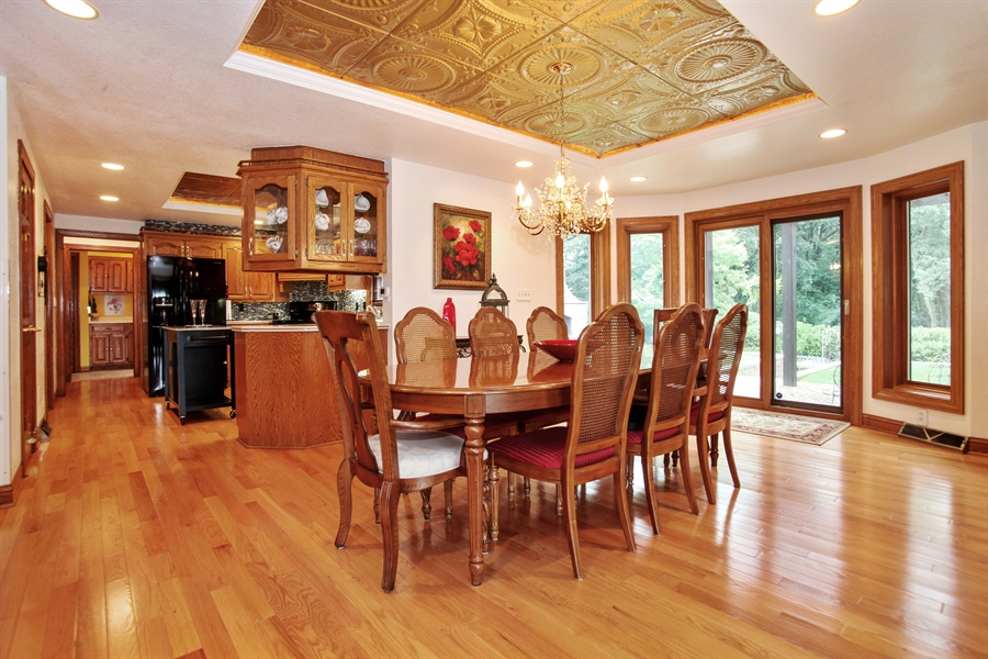 Real Estate Photography - 264 St. Augustine Rd, Colgate, WI, 53017 - Dining Area