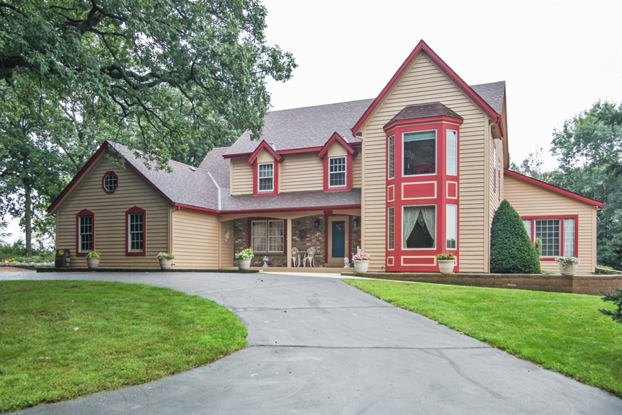 Real Estate Photography - 264 St. Augustine Rd, Colgate, WI, 53017 - Front View