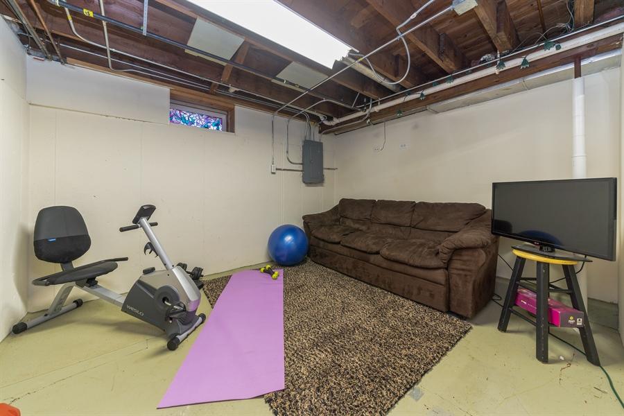 Real Estate Photography - 345 Burnidge Ct, South Elgin, IL, 60177 - Recreational Room
