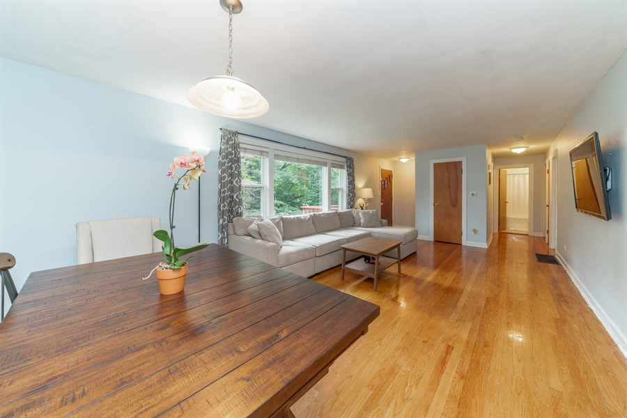 Real Estate Photography - 345 Burnidge Ct, South Elgin, IL, 60177 - Living Room/Dining Room