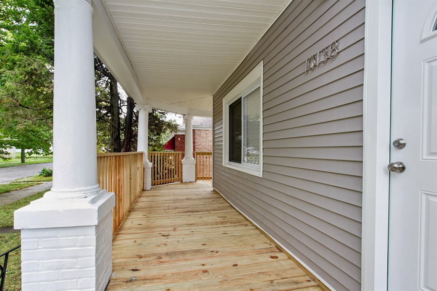 Real Estate Photography - 10138 S Parnell Ave, Chicago, IL, 60628 - Porch