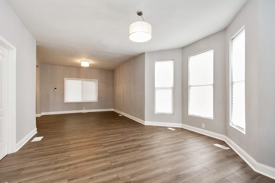 Real Estate Photography - 10138 S Parnell Ave, Chicago, IL, 60628 - Living Room/Dining Room