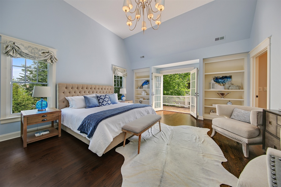 Real Estate Photography - 311 W 9th St, Hinsdale, IL, 60521 - Master Bedroom