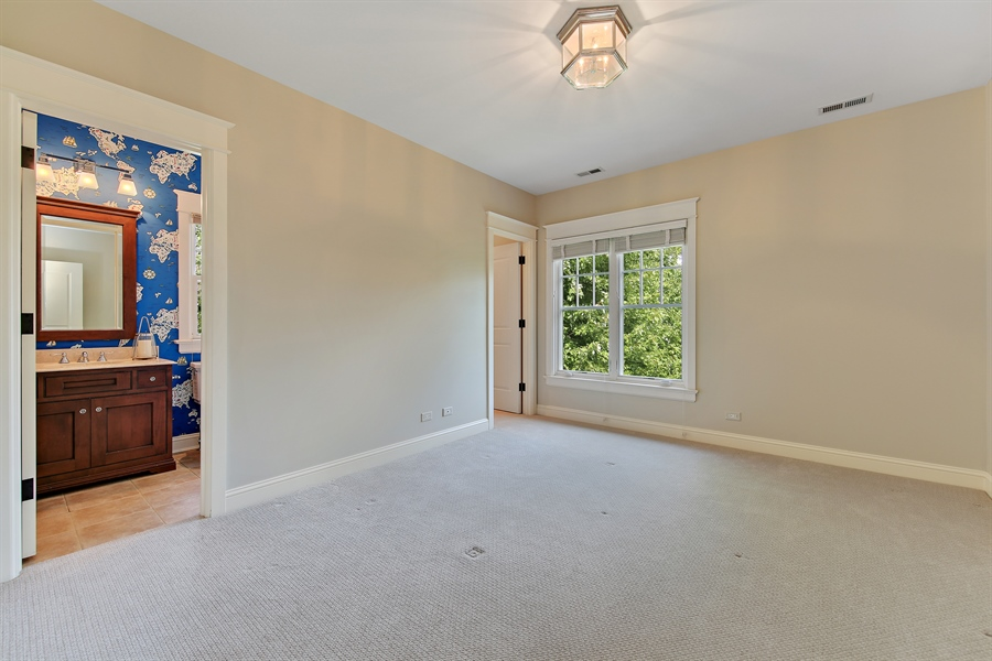 Real Estate Photography - 311 W 9th St, Hinsdale, IL, 60521 - 2nd Bedroom