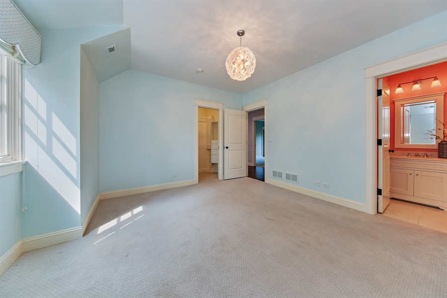 Real Estate Photography - 311 W 9th St, Hinsdale, IL, 60521 - 3rd Bedroom