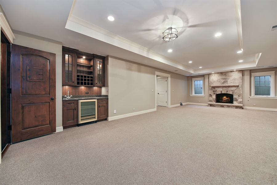 Real Estate Photography - 311 W 9th St, Hinsdale, IL, 60521 - Lower Level