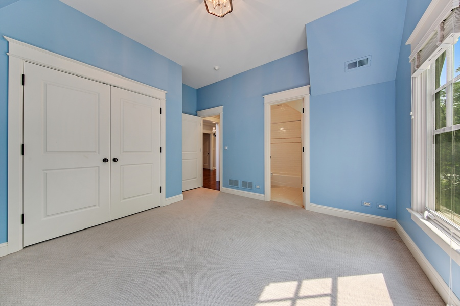 Real Estate Photography - 311 W 9th St, Hinsdale, IL, 60521 - Bedroom