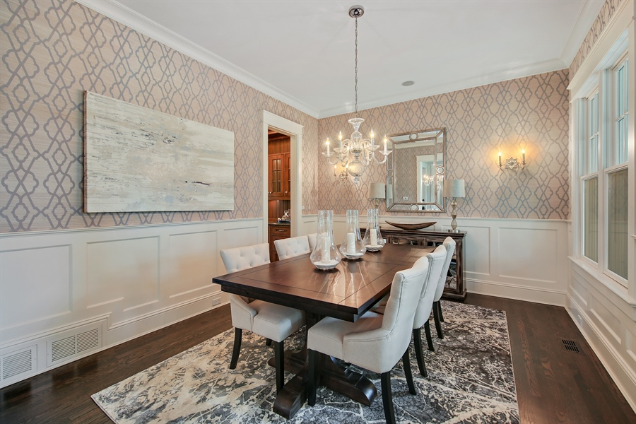Real Estate Photography - 311 W 9th St, Hinsdale, IL, 60521 - Dining Room