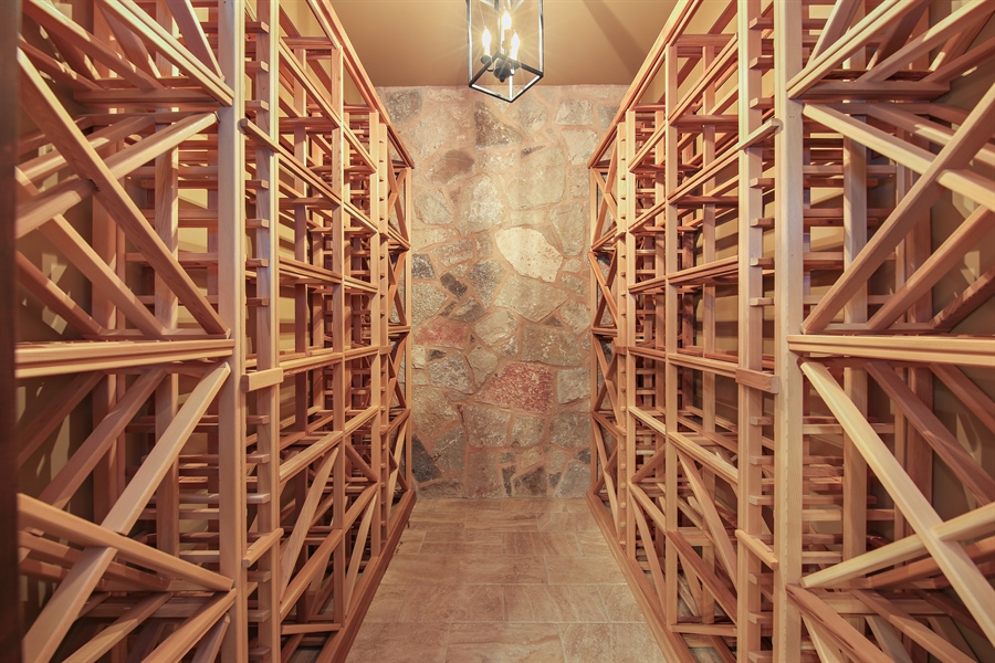 Real Estate Photography - 311 W 9th St, Hinsdale, IL, 60521 - Wine Cellar