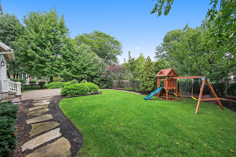 Real Estate Photography - 311 W 9th St, Hinsdale, IL, 60521 - Back Yard