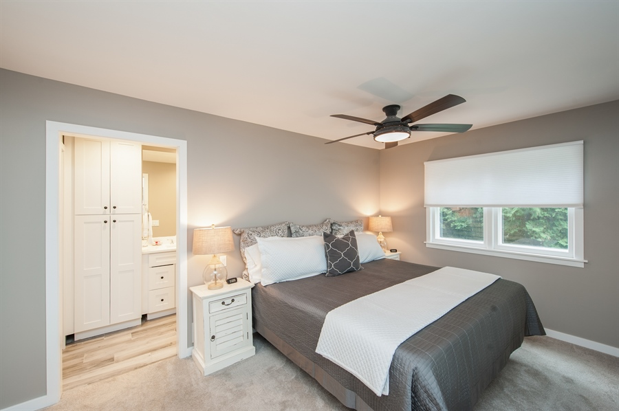 Real Estate Photography - 271 W. Park Drive, Twin Lake, WI, 53181 - Master Bedroom