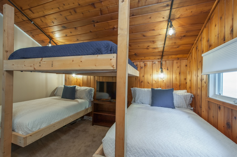 Real Estate Photography - 271 W. Park Drive, Twin Lake, WI, 53181 - Bunk Room