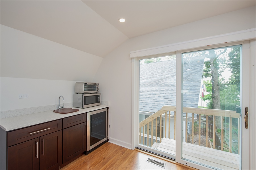 Real Estate Photography - 271 W. Park Drive, Twin Lake, WI, 53181 - Guest House - Kitchenette