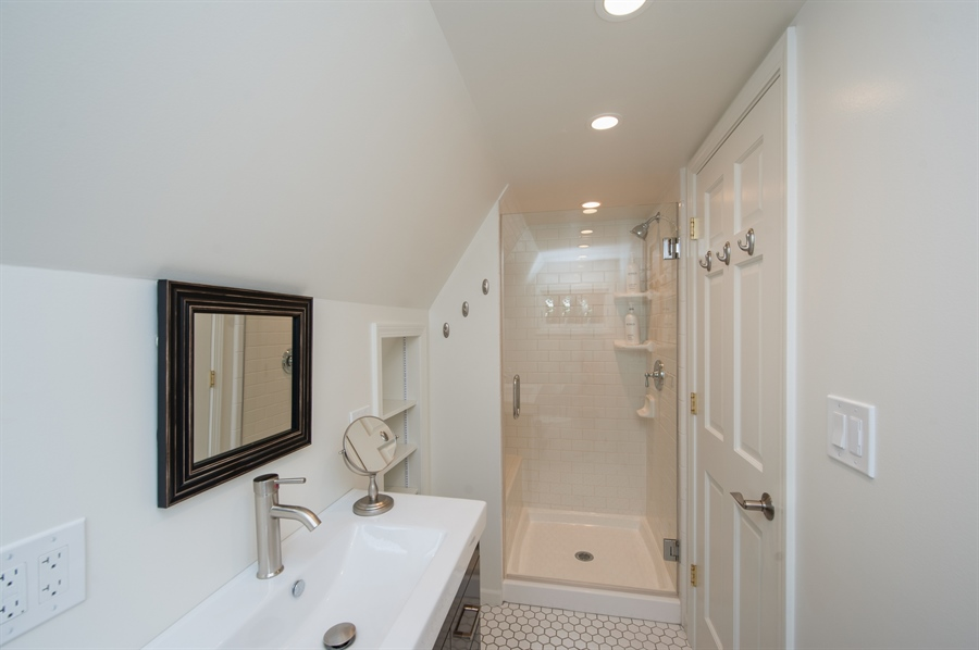 Real Estate Photography - 271 W. Park Drive, Twin Lake, WI, 53181 - Guest House - Bathroom