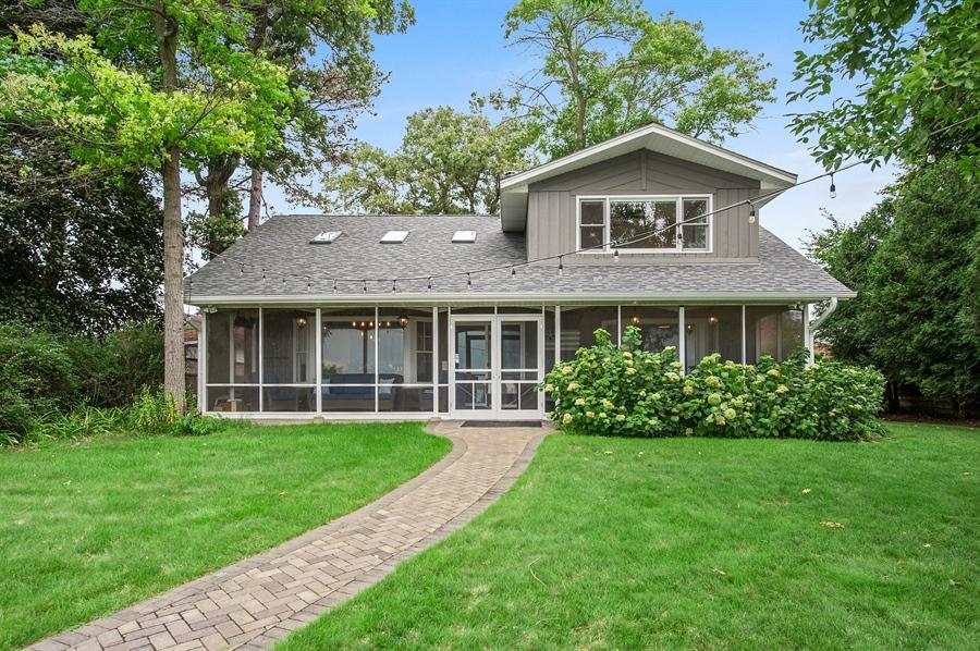Real Estate Photography - 271 W. Park Drive, Twin Lake, WI, 53181 - Rear View