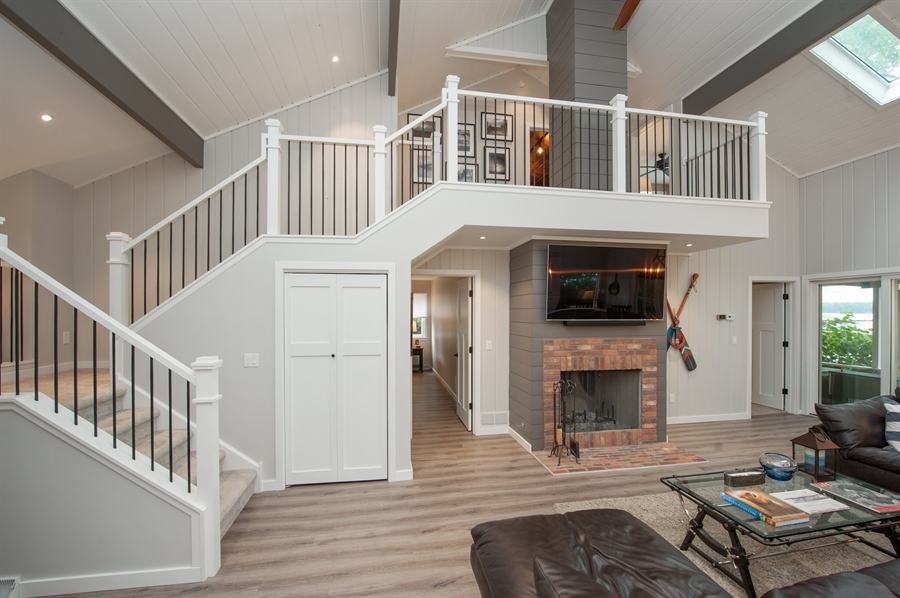 Real Estate Photography - 271 W. Park Drive, Twin Lake, WI, 53181 - Staircase