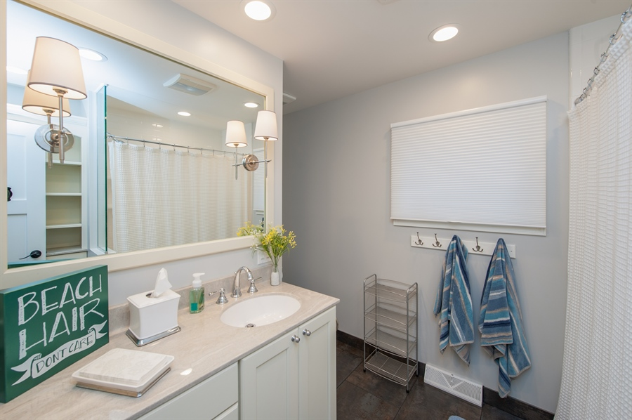 Real Estate Photography - 271 W. Park Drive, Twin Lake, WI, 53181 - Guest 1st Floor Bath