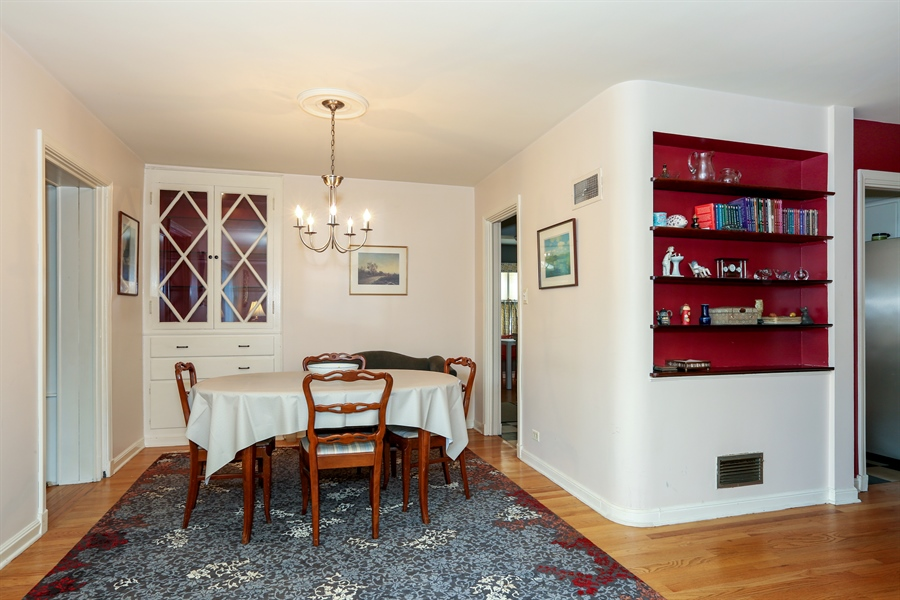 Real Estate Photography - 4234 Linden Ave, Western Springs, IL, 60558 - Dining Area