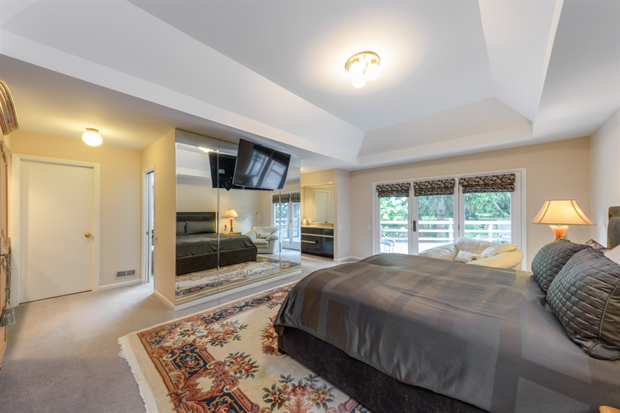 Real Estate Photography - 5322 Fenview Ct., Long Grove, IL, 60047 - Master Bedroom