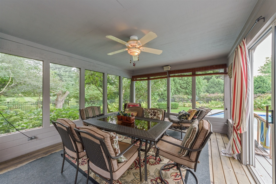 Real Estate Photography - 5322 Fenview Ct., Long Grove, IL, 60047 - Sun Room