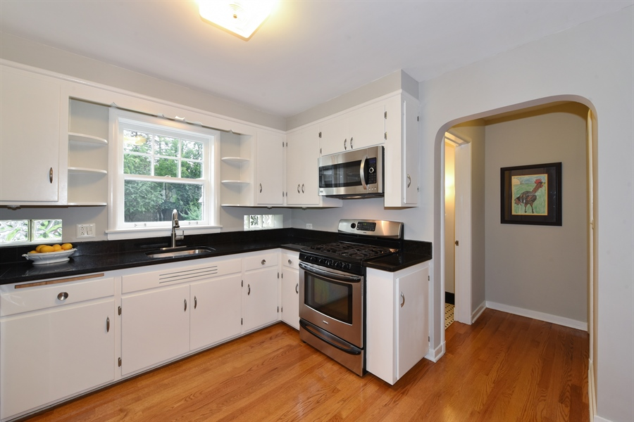 Real Estate Photography - 310 Leitch, La Grange, IL, 60525 - Kitchen