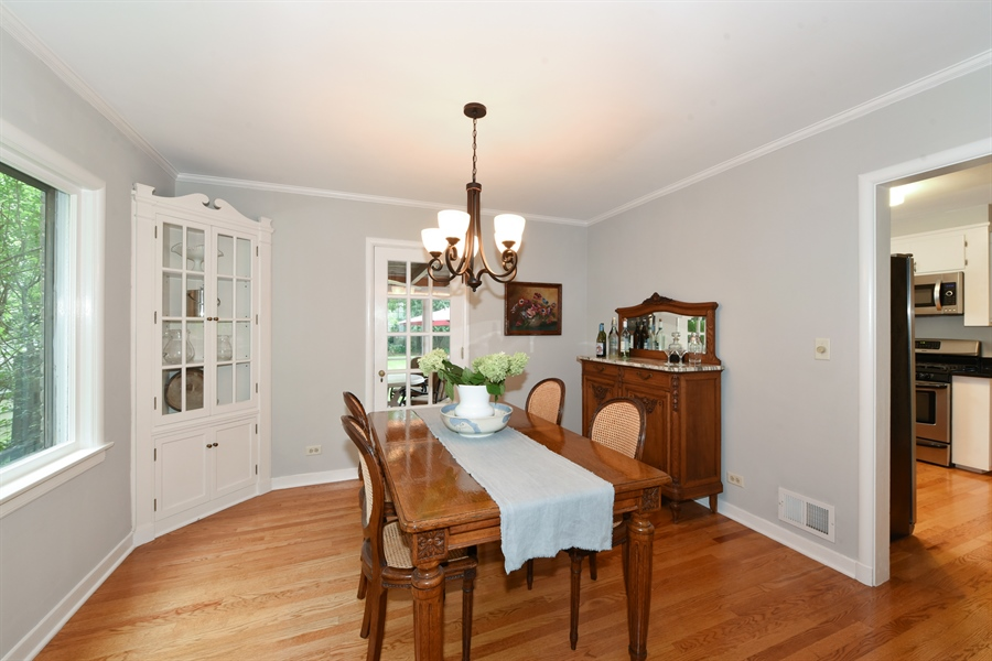 Real Estate Photography - 310 Leitch, La Grange, IL, 60525 - Dining Room