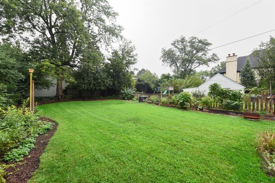 Real Estate Photography - 310 Leitch, La Grange, IL, 60525 - Back Yard