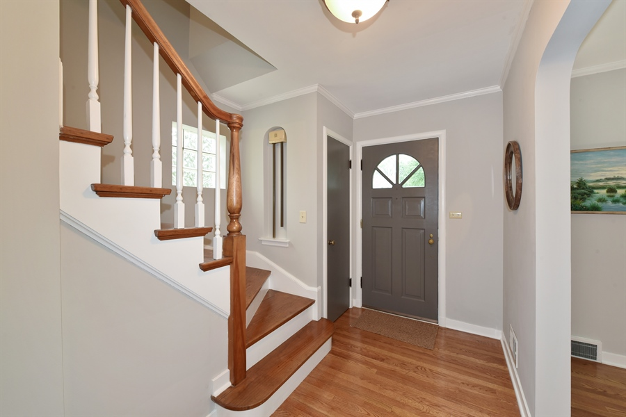Real Estate Photography - 310 Leitch, La Grange, IL, 60525 - Welcoming Foyer