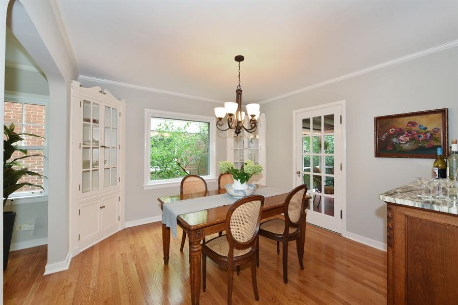 Real Estate Photography - 310 Leitch, La Grange, IL, 60525 - Dining Area