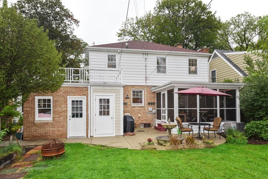 Real Estate Photography - 310 Leitch, La Grange, IL, 60525 - Rear View