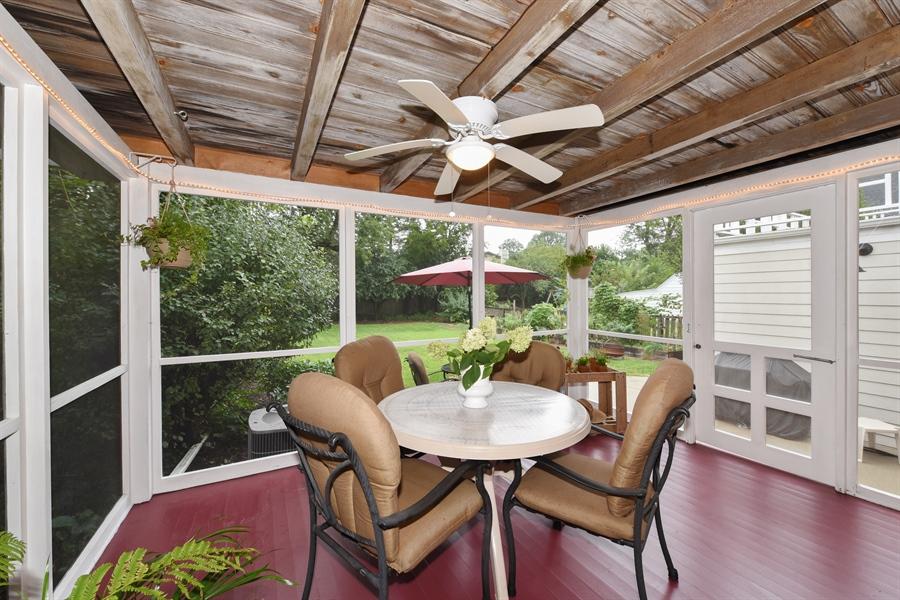 Real Estate Photography - 310 Leitch, La Grange, IL, 60525 - Porch