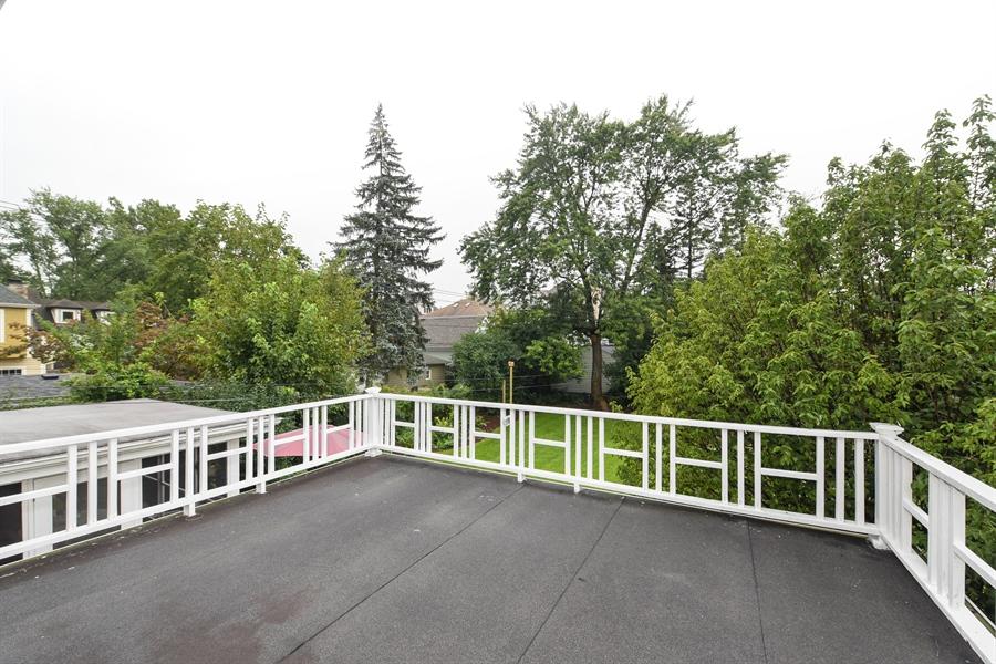 Real Estate Photography - 310 Leitch, La Grange, IL, 60525 - Balcony