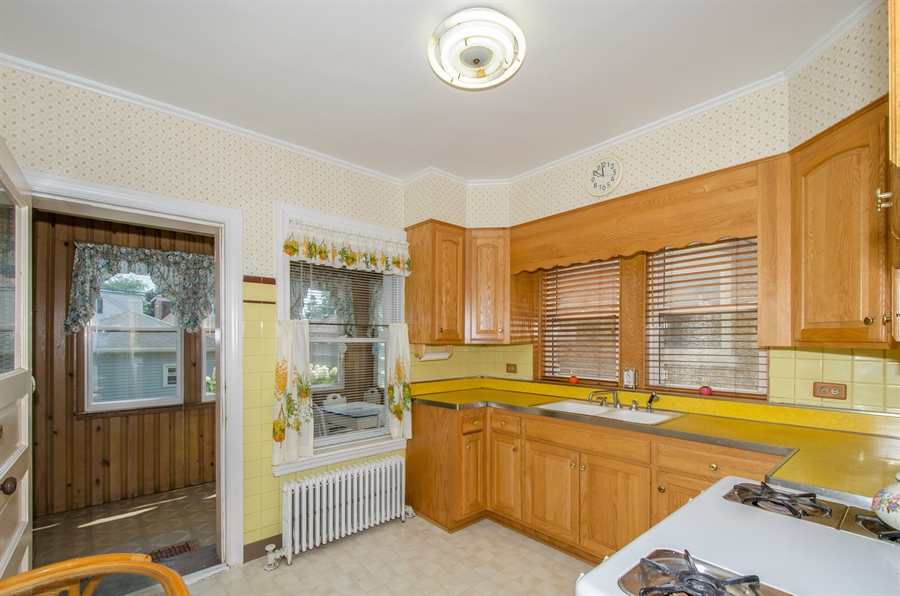 Real Estate Photography - 4247 N. Marmora Ave., Chicago, IL, 60634 - Kitchen #1