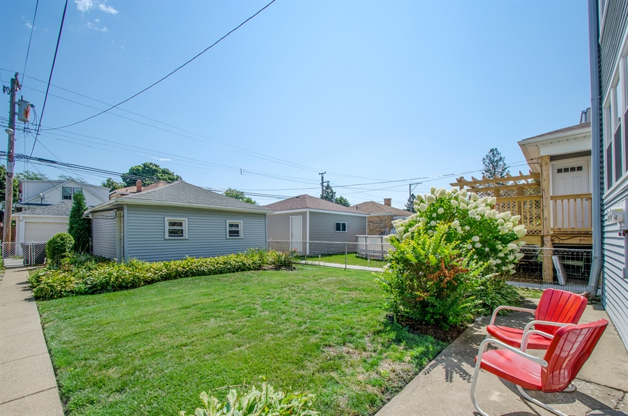 Real Estate Photography - 4247 N. Marmora Ave., Chicago, IL, 60634 - Back Yard