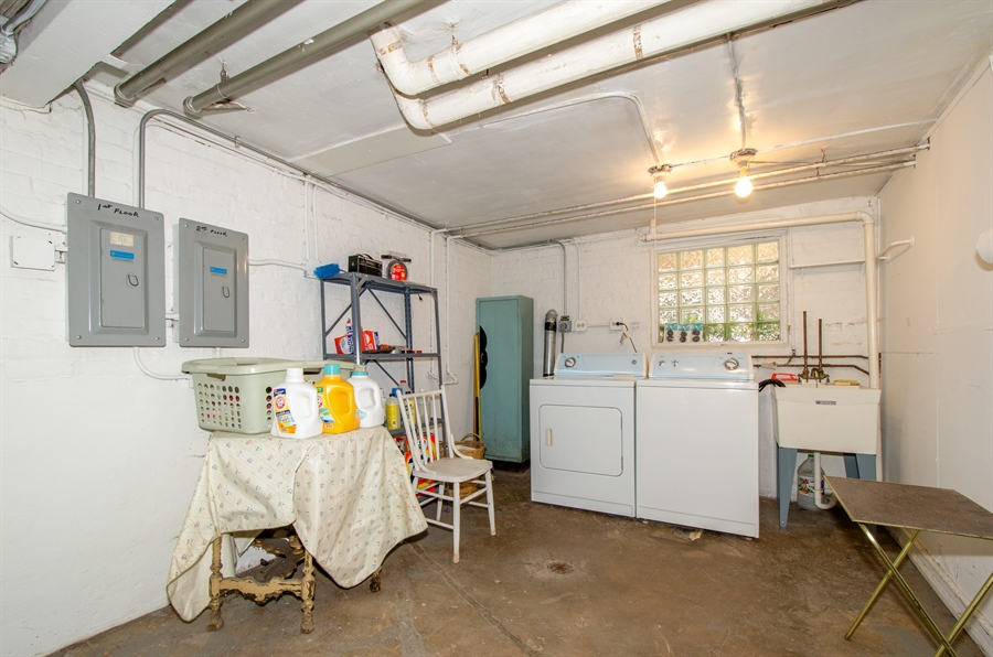 Real Estate Photography - 4247 N. Marmora Ave., Chicago, IL, 60634 - Laundry Room